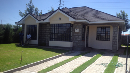3 Bed Holiday home – Bungalow to let in Kitengela