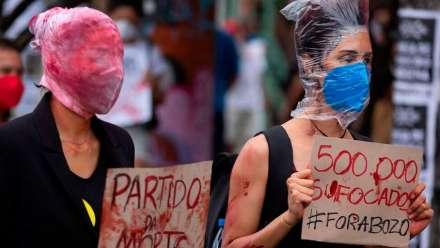Third Covid wave hits Brazil as deaths surpass 500,000
