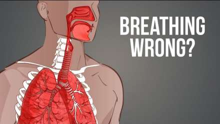 Breathing Wrong I Most people breathe incorrectly